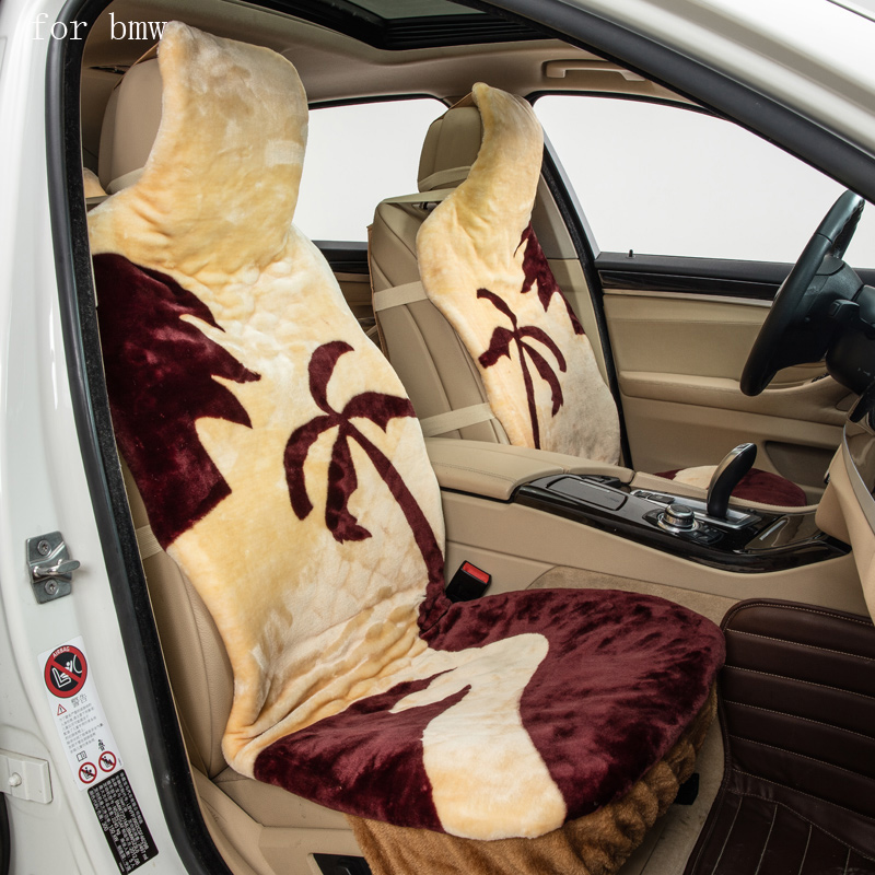 For BMW e46 e39 e36 e60 e90 f30 f10 f20 X5 pattern keep warm plush car seat covers front and rear full seat Interior Accessories back seat covers leather car seat cover for bmw e30 e34 e36 e39 e46 e60 e90 f10 f30 x3 x5 x6 car accessories car styling