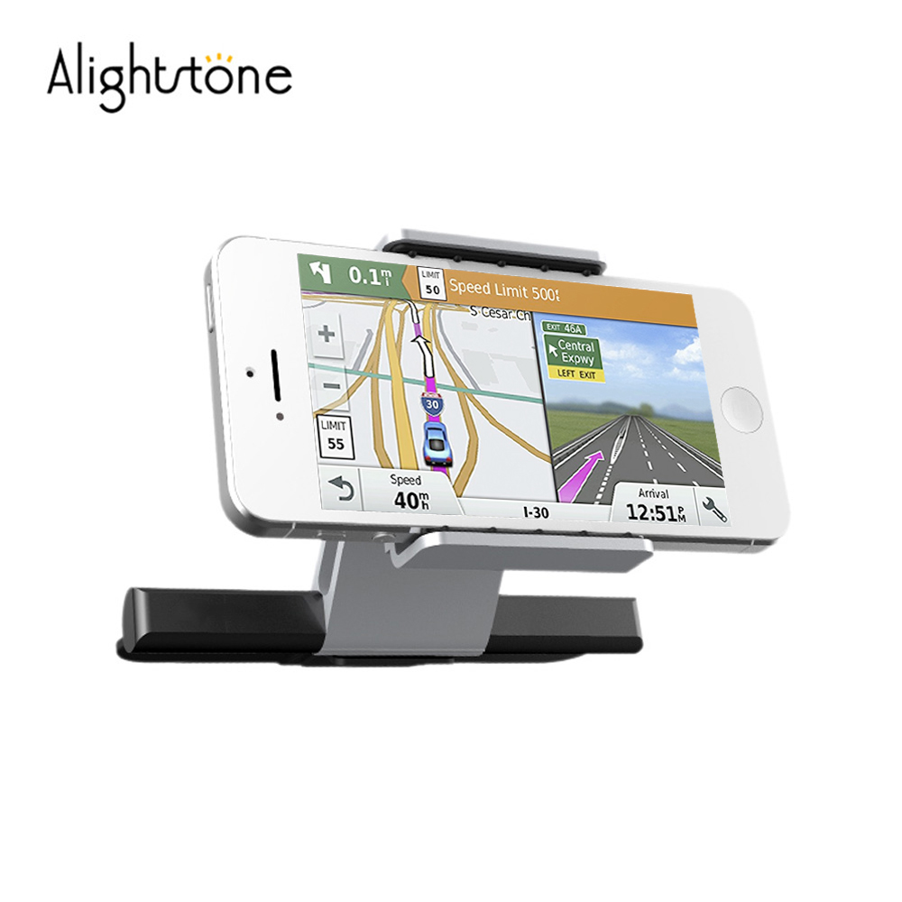 Alightstone Universal Car Phone Holder Air Vent Mobile Phone Holders for 3.5-6.0 Inch iPhone Samsung CD Slot Cell Phone Cradle