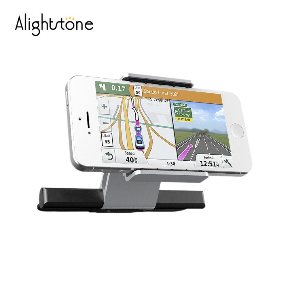 Alightstone Universal del teléfono del coche soporte del teléfono móvil soportes para 3,5-6,0 pulgadas iPhone Samsung CD ranura celular teléfono cuna