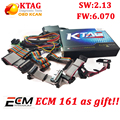 Best KTAG 2.13 Hardware V6.070 No Tokens Limited K TAG 2.13 ECU Chip Interface K-TAG Master Works Multi-Cars/Trucks free ECM!!
