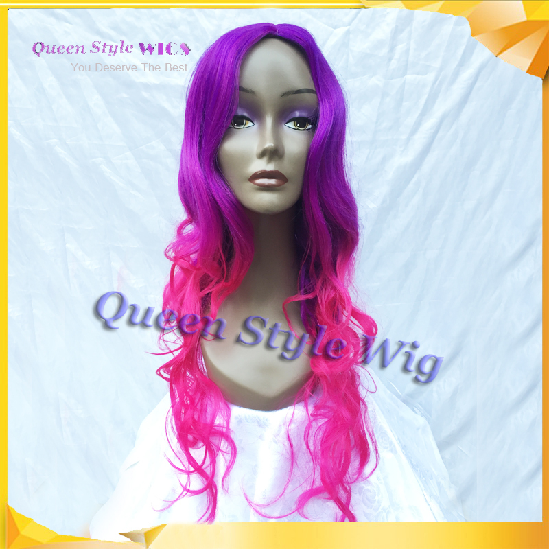 New Arrival Beautiful Hue Hair Wig Amazing Two Tone Ombre Color