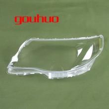 Для SUBARU Forester 09-12 крышка лампы фары оболочки Прозрачный Абажур фар Крышка объектива Стекло 2 шт.