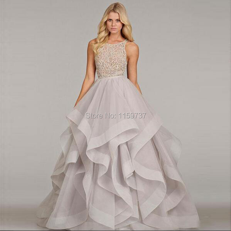Latest Collection Thin Straps Ball Gown Special Occasion Ruffle ...