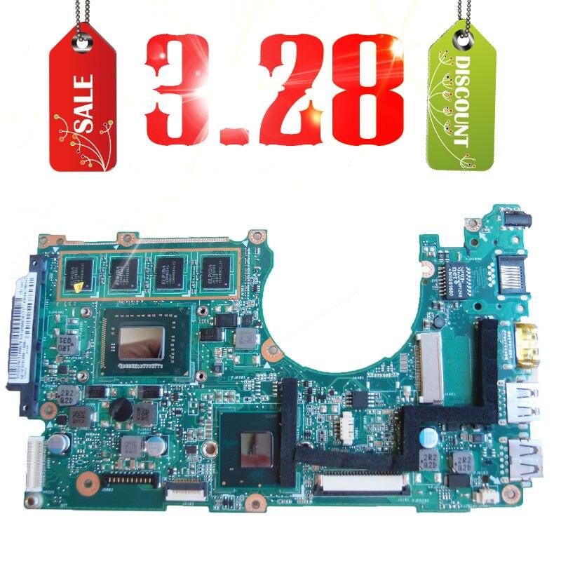 ФОТО Hot selling 3.28 for ASUS X202E Q200E motherboard X201E X202E S200E i3-2365M 60-NFQMB1800-B04 Integrated 2GB ram