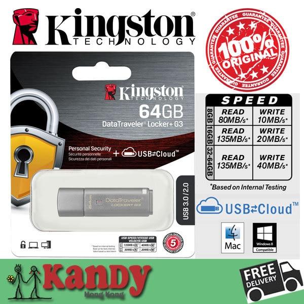 Kingston usb 3.0 encrypted cloud storage flash drive pen drive 8gb 16gb 32gb 64gb pendrive cle usb stick mini pendrives memoria