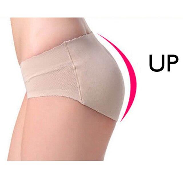 247a37b62 Mulheres Calças Sem Costura Calcinha Com Hip Shaper Pad Falso Ass Cuecas  Calcinha Butt Lift Underwear