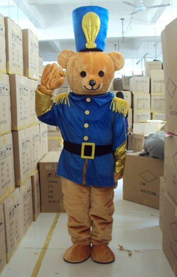 Медведь полицейскийу