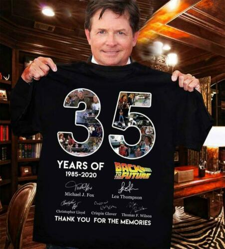 35 YEARS ANNIVERSARY OF BACK TO THE FUTURE T-SHIRT Limited Edition
