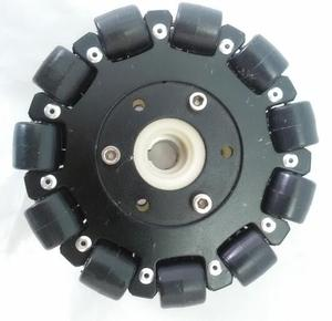Image 3 - 127mm Plataforma Chassis Robô Roda Direcional Omni