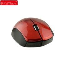 Bts 2.4g 1600 dpi usb 2.0 receptor mouse sem fio para laptops & desktops para mão grande mouse sem fio jogos
