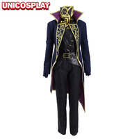 Dishonored 2 Emily Kaldwin Cosplay Costumes Woman Suits Trench Vest Shirt Pants Gloves Mask Full Set