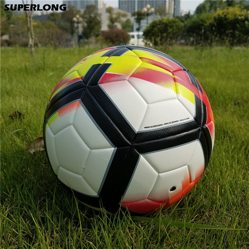 2018 Premier PU Football Soccer Ball Anti-slip Match Team Training Game Balls Teenager Kids Goal Gifts Size 5 futbol bola soccer kick off