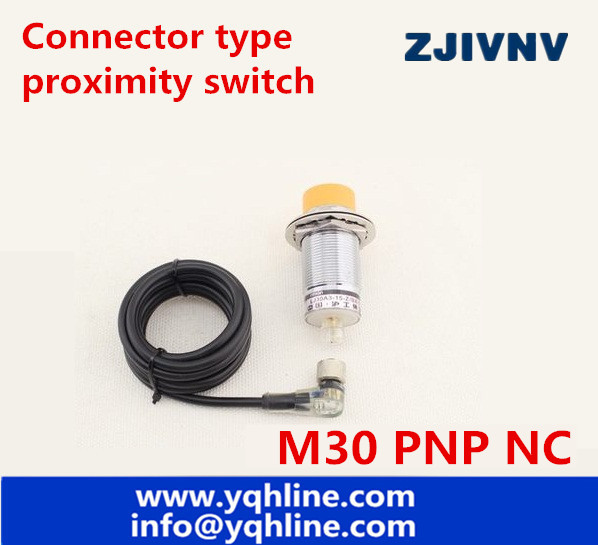 NON flushe type M30 PNP NC DC proximity inductive sensor 3 wires ...