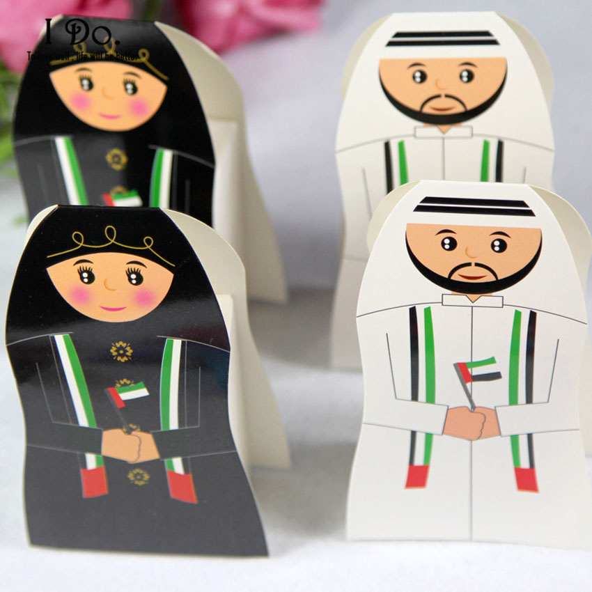 Wedding Gift List Uae : UAE Wedding Favor Boxes Couple Wedding Candy Box Casamento Wedding ...