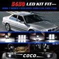 7x5630 5730 SMD LED Branco Luzes lâmpadas Kit CANBUS Livre de Erros para BMW Série 7 1994-2001 Para BMW E38 740i Frete Grátis #84