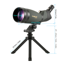 Visionking 30-90×100 Angled Spotting Telescope Scope Professional Waterproof Travel Scope Monocular Bird Watching Camping Tools