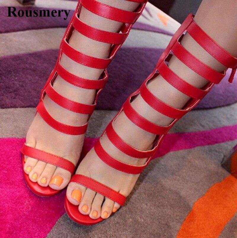Hot Selling Women Fashion Open Toe Strap Cross High Heel Boots Cut-out Zipper-up High Heel Boots Ankle Wrap BootsHot Selling Women Fashion Open Toe Strap Cross High Heel Boots Cut-out Zipper-up High Heel Boots Ankle Wrap Boots