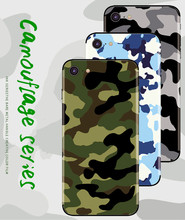 Stickers for IPhone 6 6s 6P 6sP Back Film Protective Cover Stickers for iPhone 7 7P 8 8P Phone Sticker Poster Camouflage Series