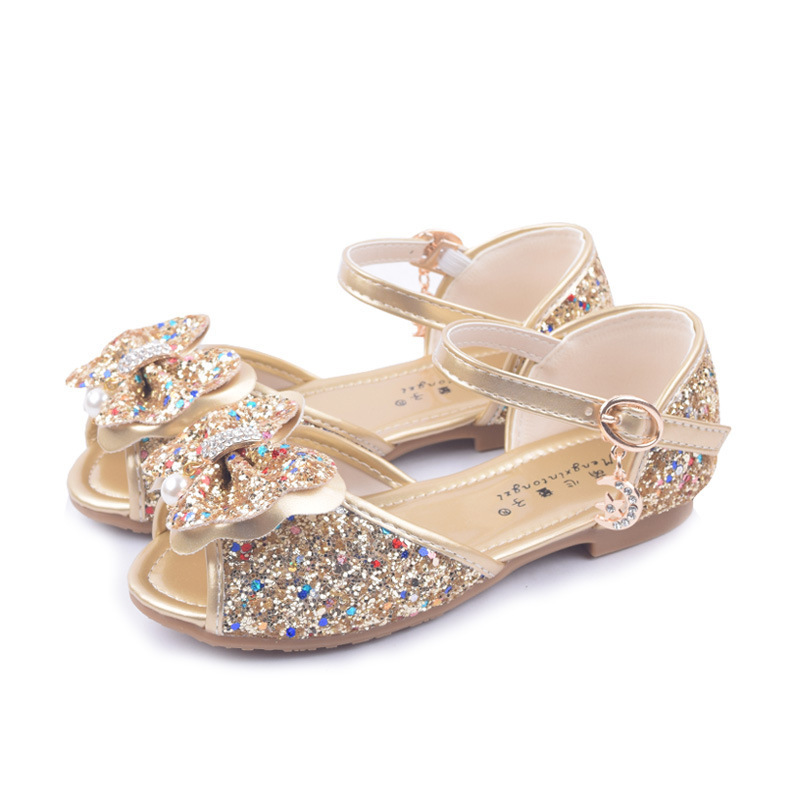 6130ec7f32086c Girls Sandals Fashion Summer Child Shoes High Cute Girls Shoes Design  Casual Kids Sandals size 25 - 36  1