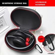 2019 Newest EVA Hard Bag Headphone  Protection Case Headset Portable Earphone For Studio2.0/ Pro/Solo2/Solo3/Sony