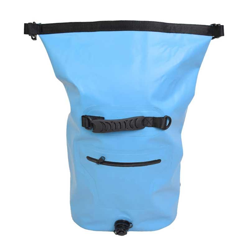 30L sac à dos étanche sac à dos avec bretelles Valve d'air rouleau sac supérieur pour la navigation de plaisance kayak voyage plage Camping vacances