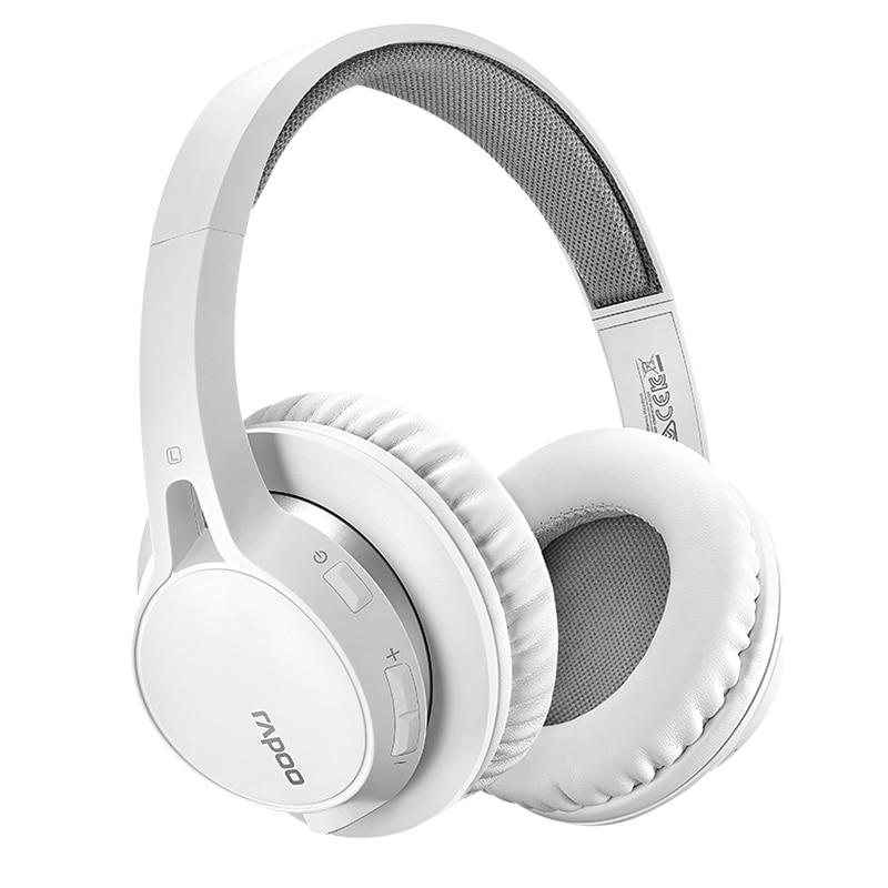 Rapoo S200 Earphone Wireless Bluetooth 4.1 Headset Stereo HiFi Headphone Microphone Build-in Subwoofer Headphones Free Shipping