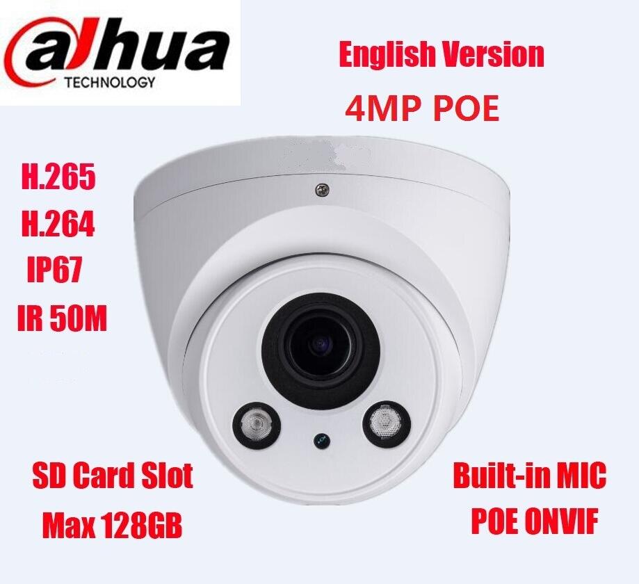 imágenes para Ipc-hdw5431r-z ipc-hdw5431rp-z dahua $ number mp wdr ir eyeball cámara ip 2.7mm-12mm lente motorizado luz de las estrellas cámara de red no logo