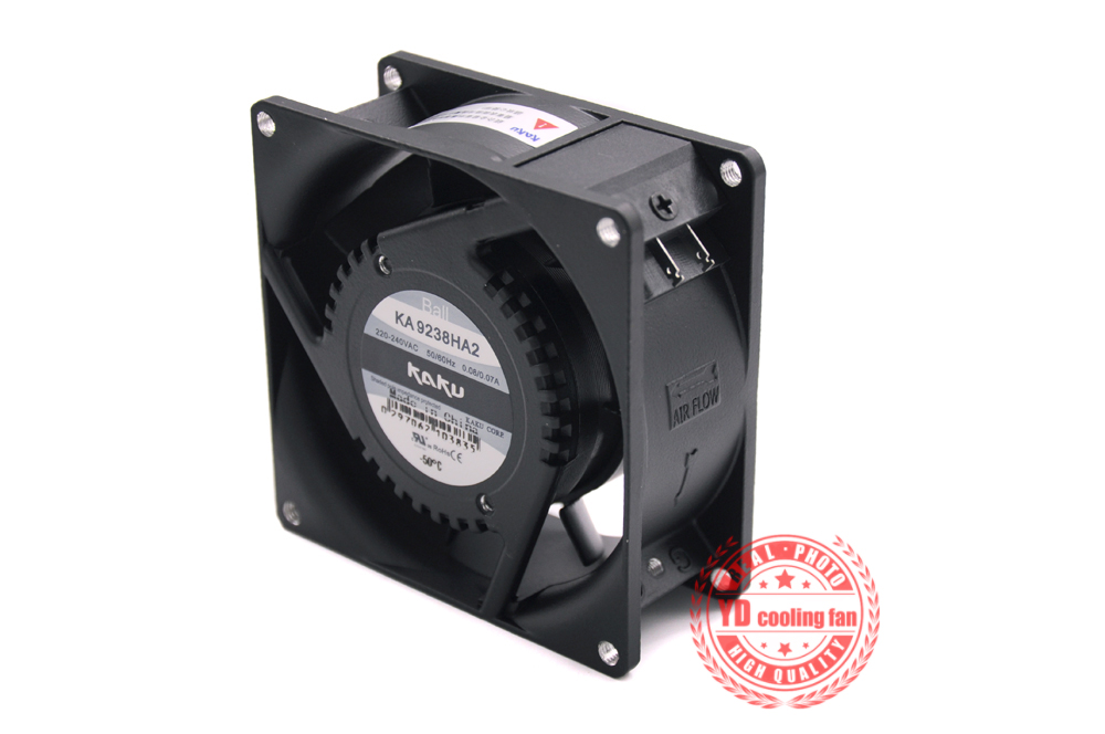 NEW FOR KAKU KA9238HA2 9038 220V 0.08A Ball Bearing 9CM Cooling Fan