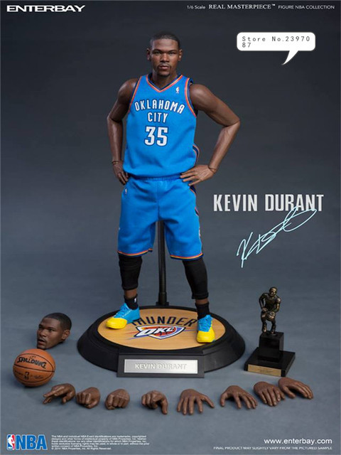 65cf39aba0a1 NBA Kevin Durant Golden State Warriors 35 Action Figure Toy PVC 1 6  Collection Model Dolls Christmas Present Toys for Boys