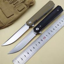KESIWO składany nóż kieszonkowy 9cr18mov ostrze G10 uchwyt taktyczne camping survivalowe noże myśliwskie flipper odkryty EDC narzędzia ręczne tanie tanio Maszyny do obróbki drewna STAINLESS STEEL shisha folding knife knife folding knife pocket knife flipper knife EDC knife