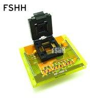 ADP 4889 Q программист адаптер QFP80 TQFP80 к DIP40 для Hi Lo все 11 программист адаптер/IC Socket