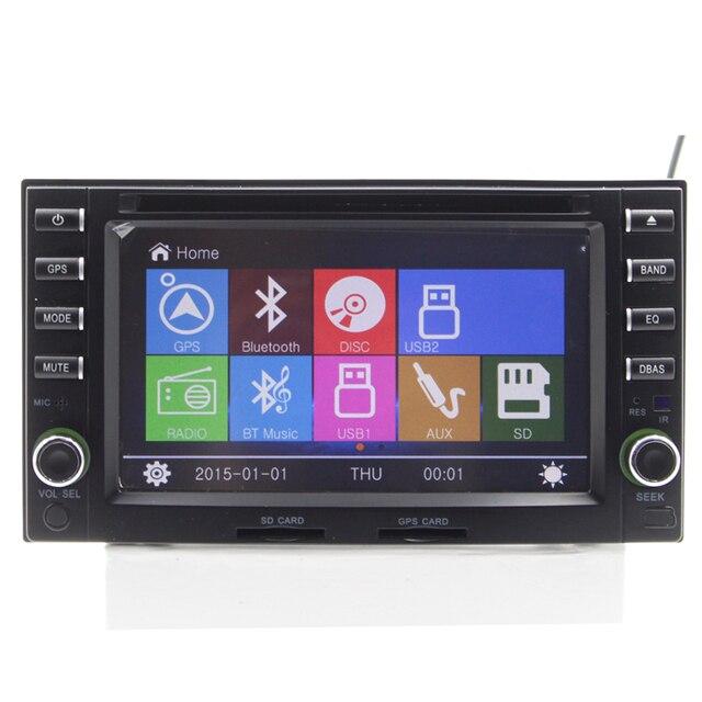 "6.2 ""2 Din Universarl Dvd-плеер Автомобиля Gps-навигация стерео для Kia Ceed 2006 2007 2008 с Bluetooth Радио RDS Ipod"