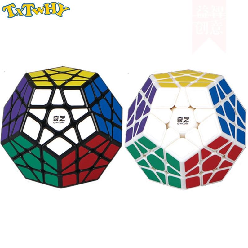 Qiyi Qiheng Megaminxeds Magic Cubes Speed Professional 12 Sides Puzzle Cubo Magico Educational Toys For Children