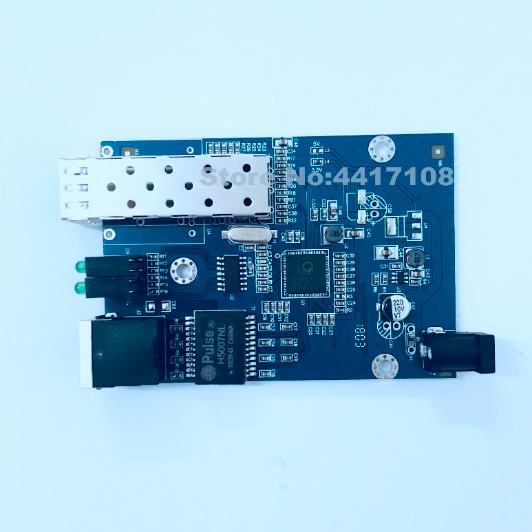 10PCS SFP Fiber to RJ45 converter gigabit SFP  media converter 1000Mbps SFP Gigabit Fiber Optical Converter Board with adapter-in Fiber Optic Equipments from Cellphones & Telecommunications    2