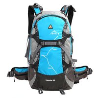 Ship From Russia China KIMLEE 35L Men Women Sport Backpack Bag With Rain Cover 3D
