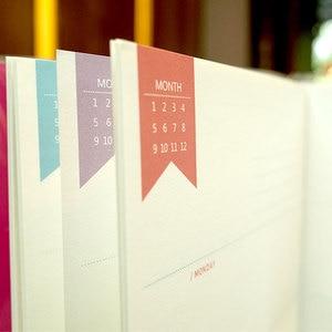 Image 5 - Lovedoki رقة مذكرات الشهرية الأسبوعية خطة سنوية للقيام قائمة النقدية كتاب ل A5A6 dokibook مفكرة استبدال الداخلية الأساسية إدراج