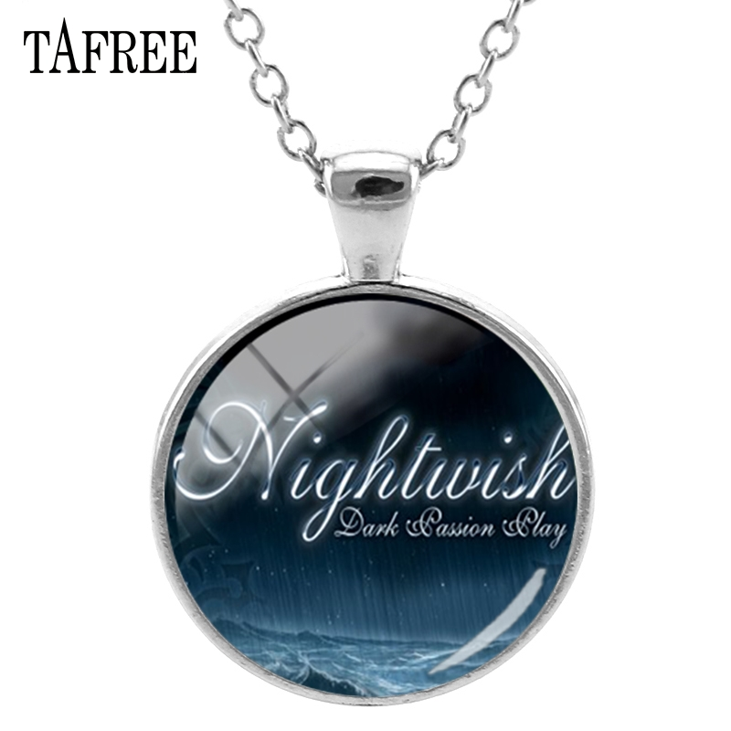 TAFREE Music Band Nightwish Pendants Necklaces Popular Singers Statement Necklaces Chokers Pendants Fans Souvenir Jewelry NW574