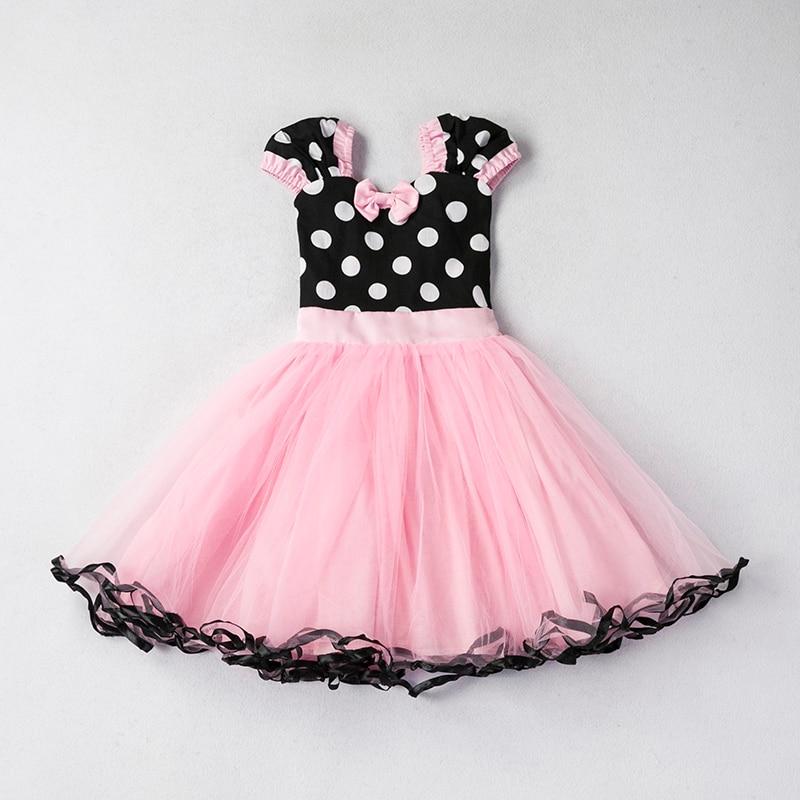 Cute Little Dress For Baby Girls Tutu Dots Dresses Kids -9860