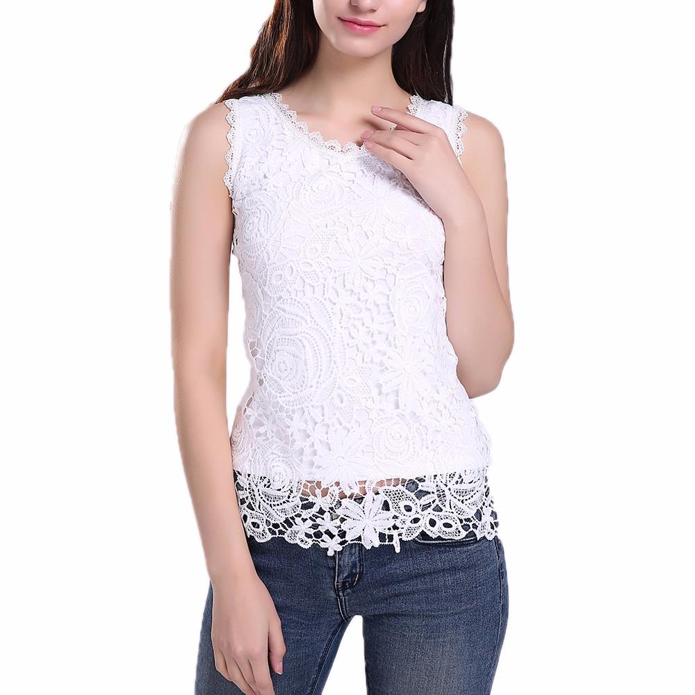 HTB1YikUNFXXXXcyXXXXq6xXFXXXh - New Women Lace Vintage Sleeveless Blouse Casual Shirts