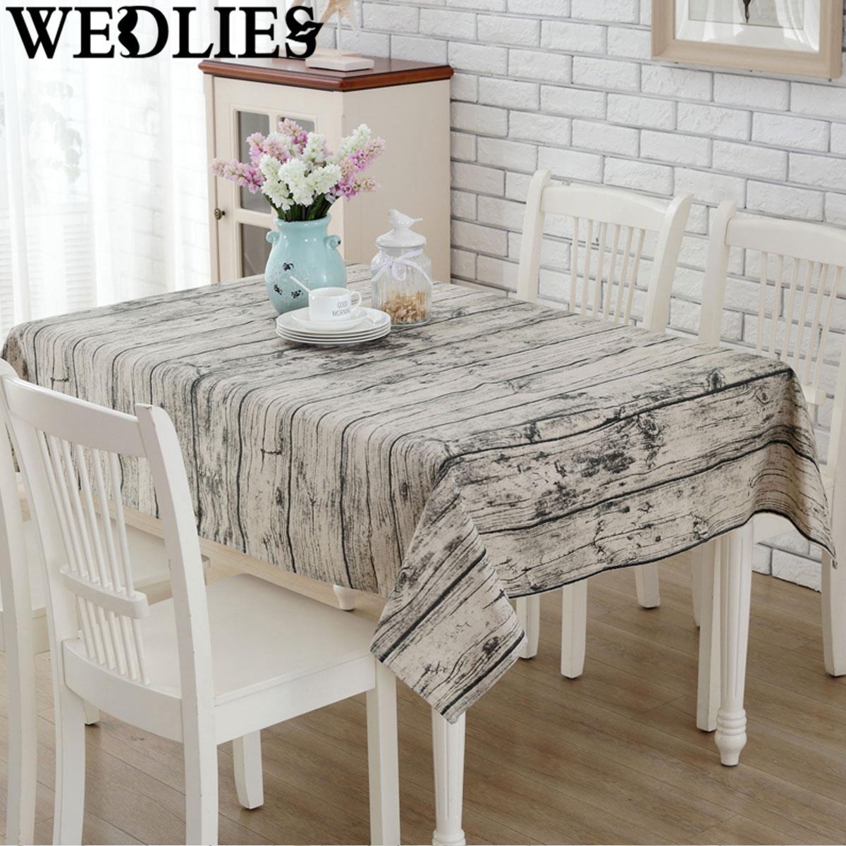Linen Table Cloth Europe 3D Wood Home Outdoor Party Table Cover Toalha De  Mesa Manteles Para Mesa Nappe De Table Tablecloth