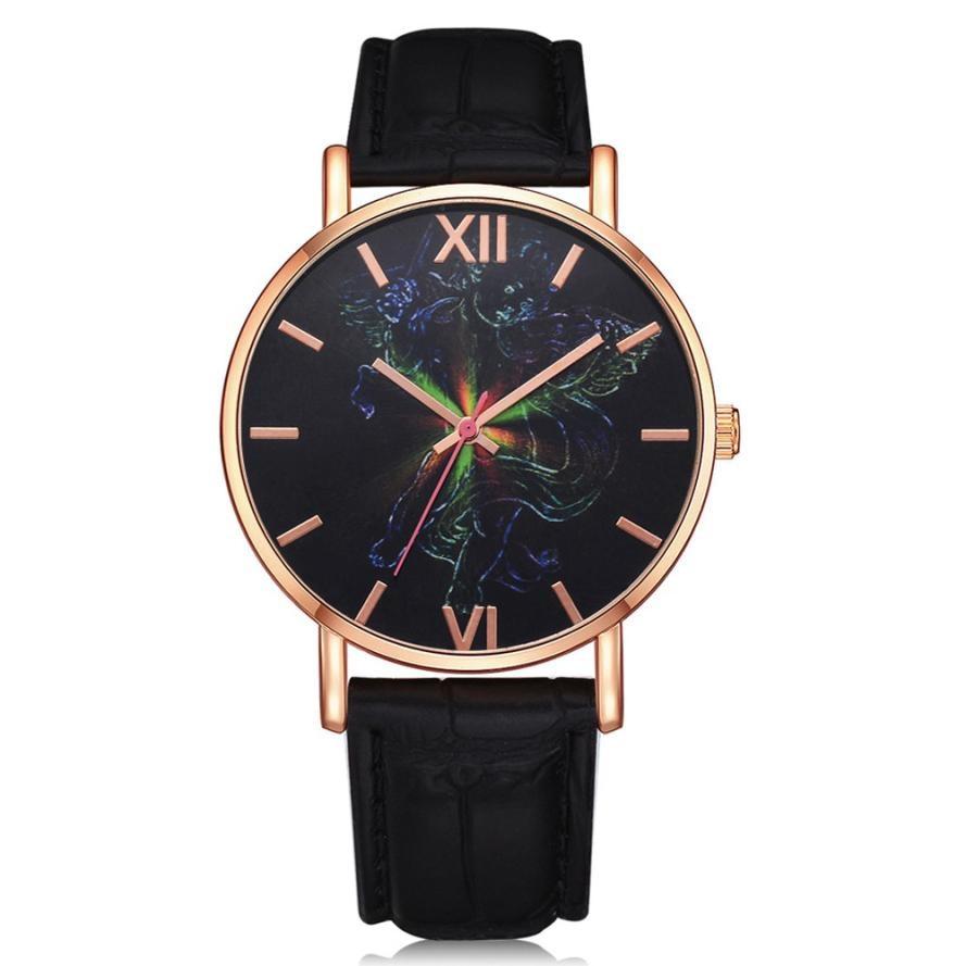 Fashion Luxury Women Watches Band Watch Analog Wrist Watch Lvpai Women's Casual Quartz Leather Quartz Wrist Watch