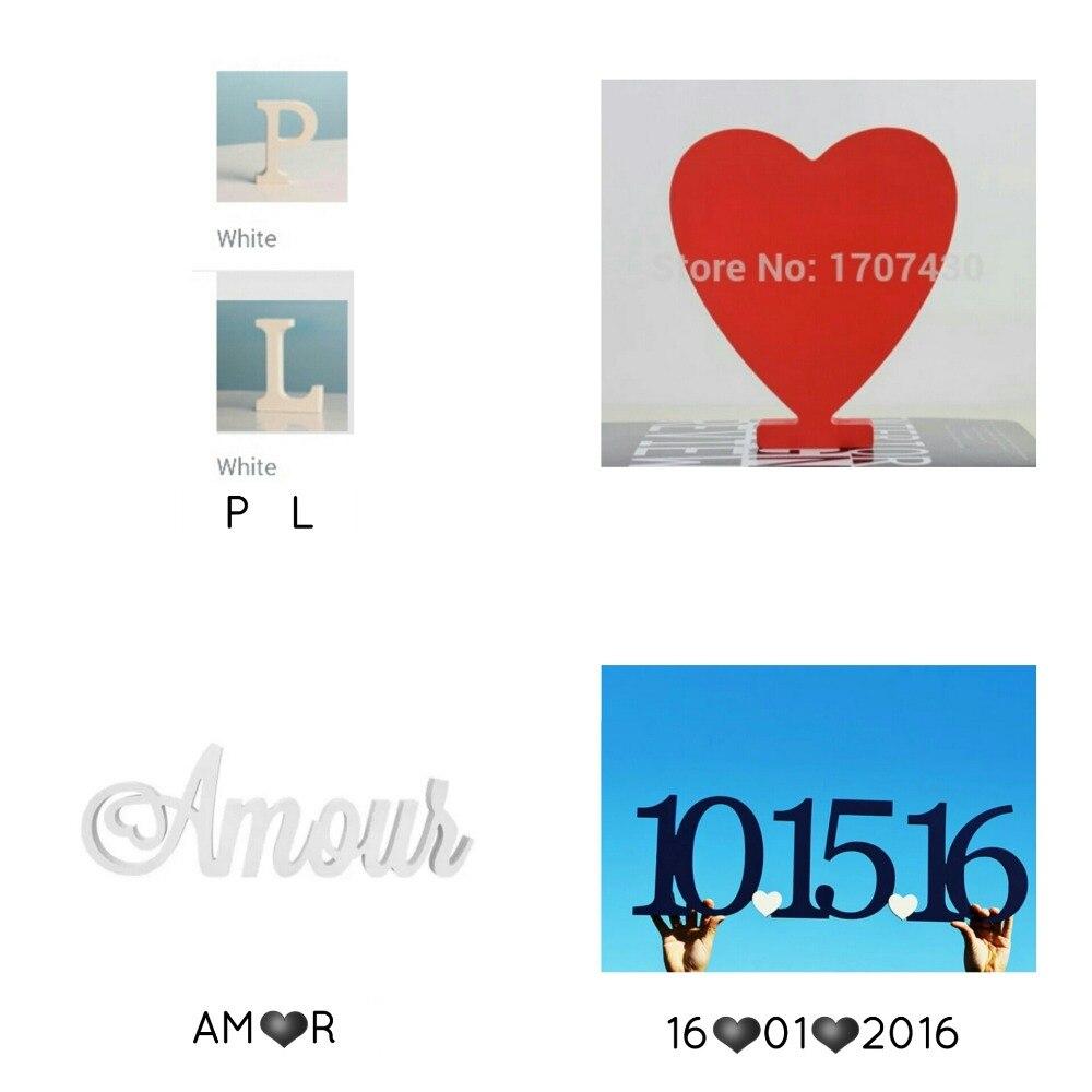 Love  Decor  Studio  Custom letter  P L, AM heart R, 16 heart 01 heart 2016