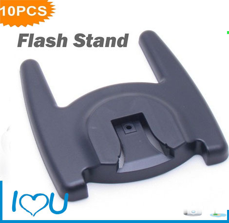 10pcs Photo Studio Accessories Flash Stand Holder Mount Bracket Cold Hot Shoe Speedlite Flashgun 1/4 Screw Hol