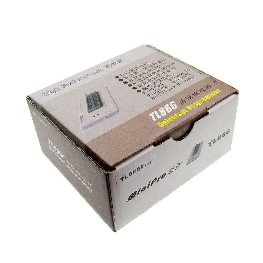V7.05 TL866II плюс BIOS USB Универсальный программист ICSP NAND Flash EEPROM 1.8 В 24 93 25 лучше, чем TL866A TL866CS