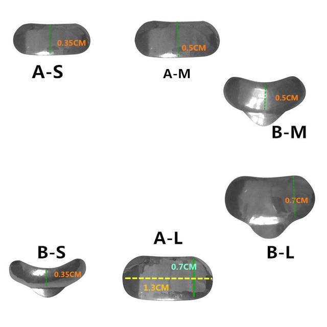 100 Pcs/Set Dental Sectional Contoured Matrices Matrix Ring Delta Wedges Filling W 4