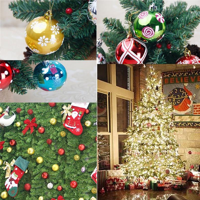 Christmas Decoration Wholesalers: 6Pcs 6cm Christmas Balls Baubles Party Xmas Tree
