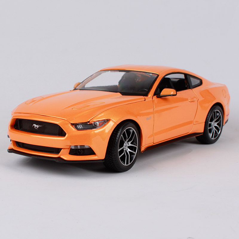 Maisto 1 18 2015 new gt orange car diecast for mustang ford fashionable motorcar diecast luxury