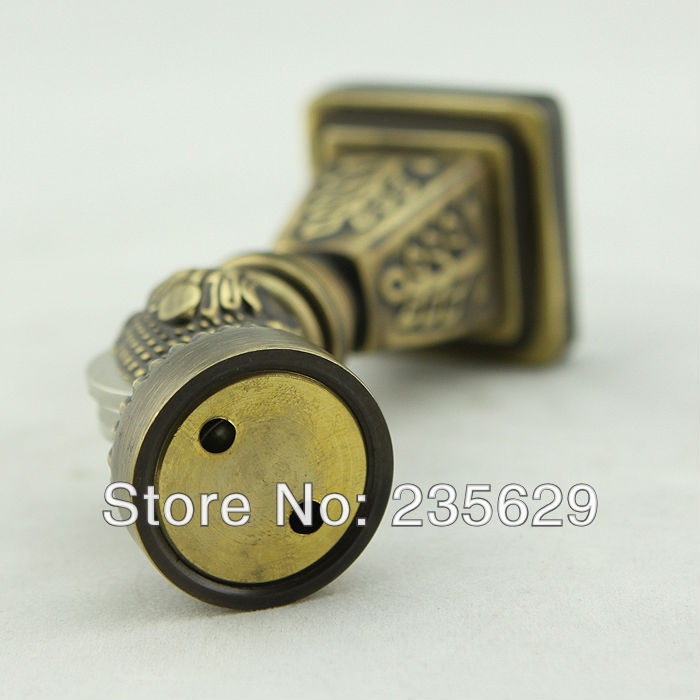 Free Shipping, Wall mounted Brass Door Stopper, suitable for interior doors, Door Holders For Sale, High suction,356g free shipping door stopper door holders for sale high suction