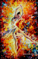 Lovers nude palette knife oil painting Sexy wall art oil painting Nude women Oil painting on canvas Hand painted Painting 6