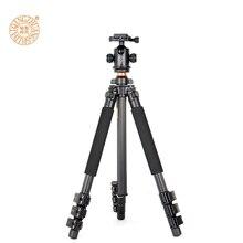 Q472 digital carbon fiber digicam tripod  flip leg lock digicam holder for Nikon digicam panoramic ball head free delivery by DHL